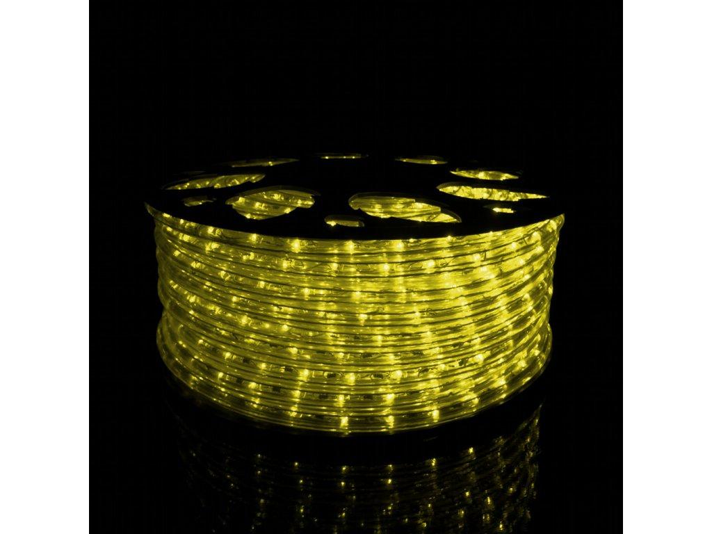 Svetelný had žltá 1m 36LED 230V 3,8W
