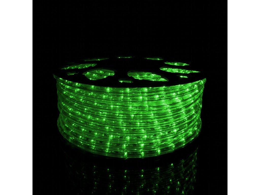 Svetelný had zelená 1m 36LED 230V 3,8W
