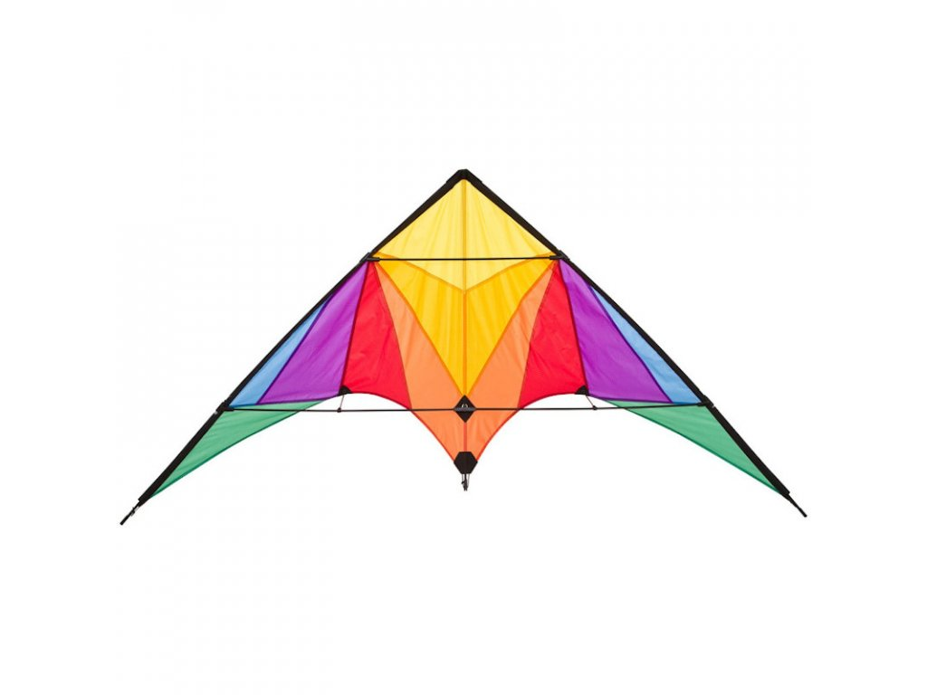 Invento Stunt Kite Trigger Rainbow