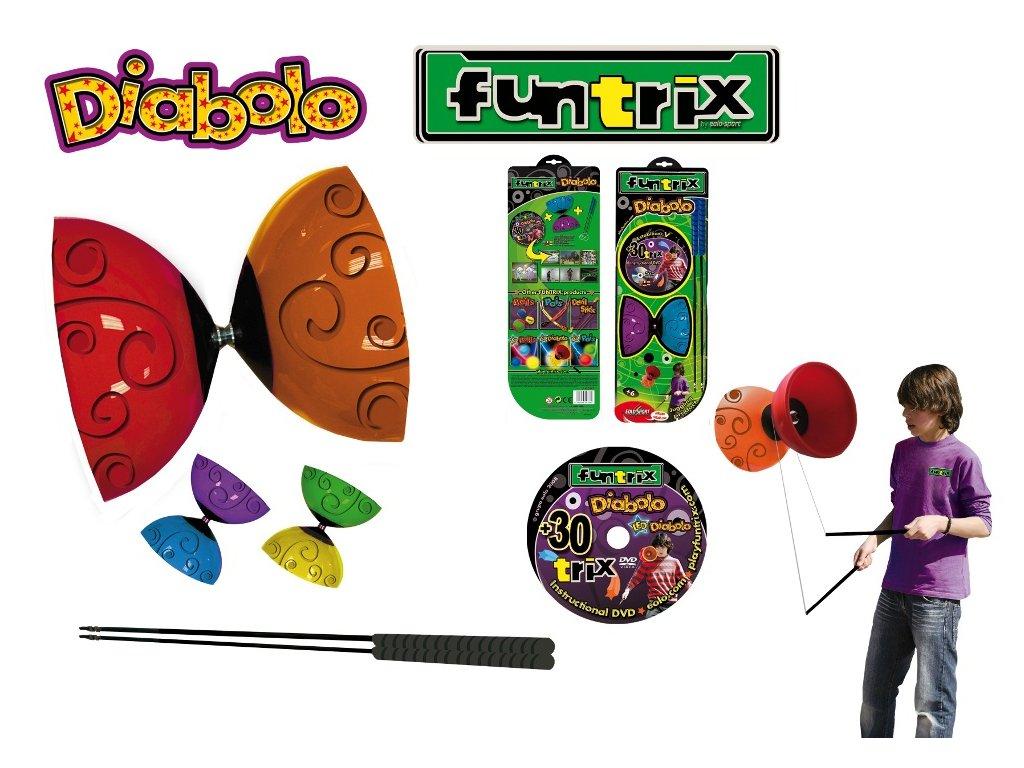 Diabolo - žonglovacie náradie Funtrix  FX004