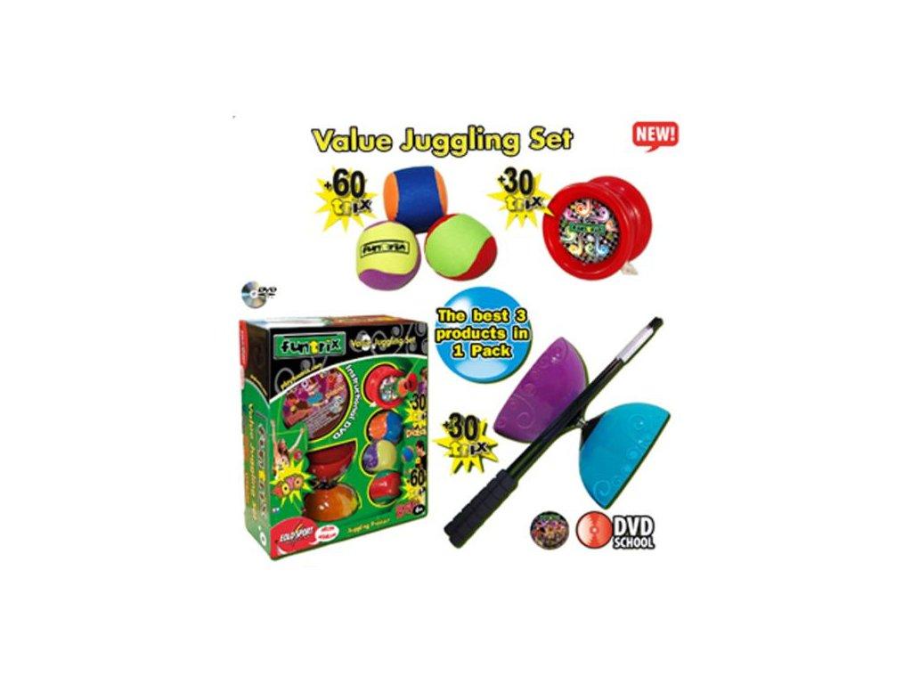 Funtrix žonglovací set