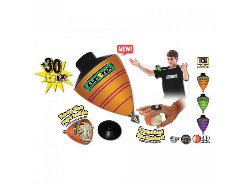 Funtrix spin-top