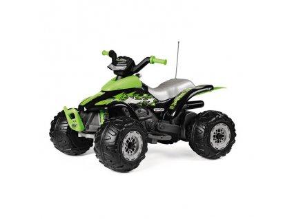 Elektrická štvorkolka PegPerego Corral T-Rex  12V zelená