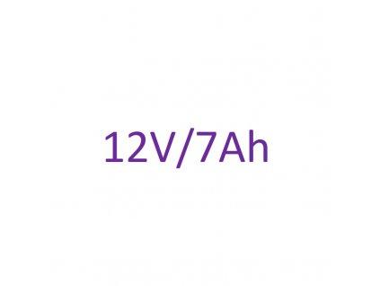 Náhradné batériové články 12V 7Ah