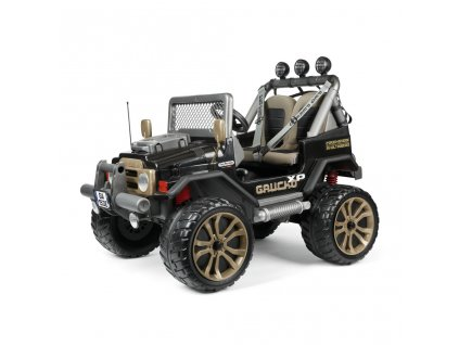 Elektrické autíčko PegPerego Gaucho XP 24V čierna