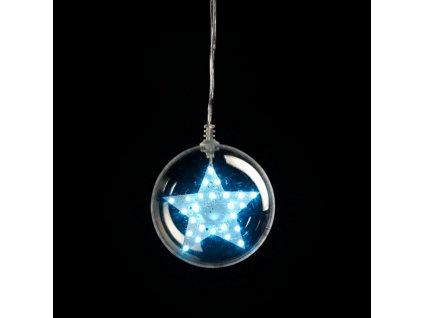 Snowfall Transparent Ball/star