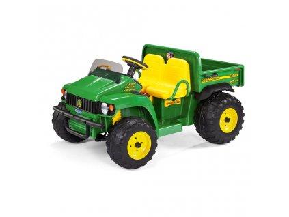 Elektrické vozidlo PegPerego John Deere Gator HPX 12V zelená