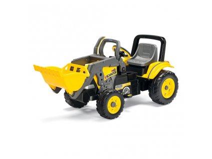 PegPerego Maxi Excavator žltá