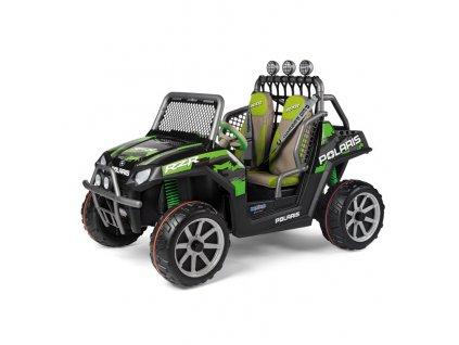 Elektrická bugina PegPerego Polaris Ranger RZR GreenShadow 24V zelená