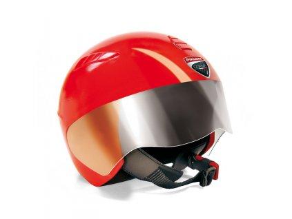 PegPerego Prilba Ducati červená