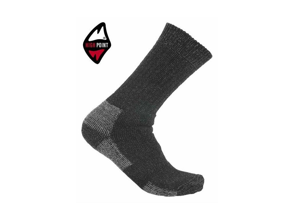 11e1cb5ece1 HIGH POINT Lord Merino - ponožky - SAMBARSPORT