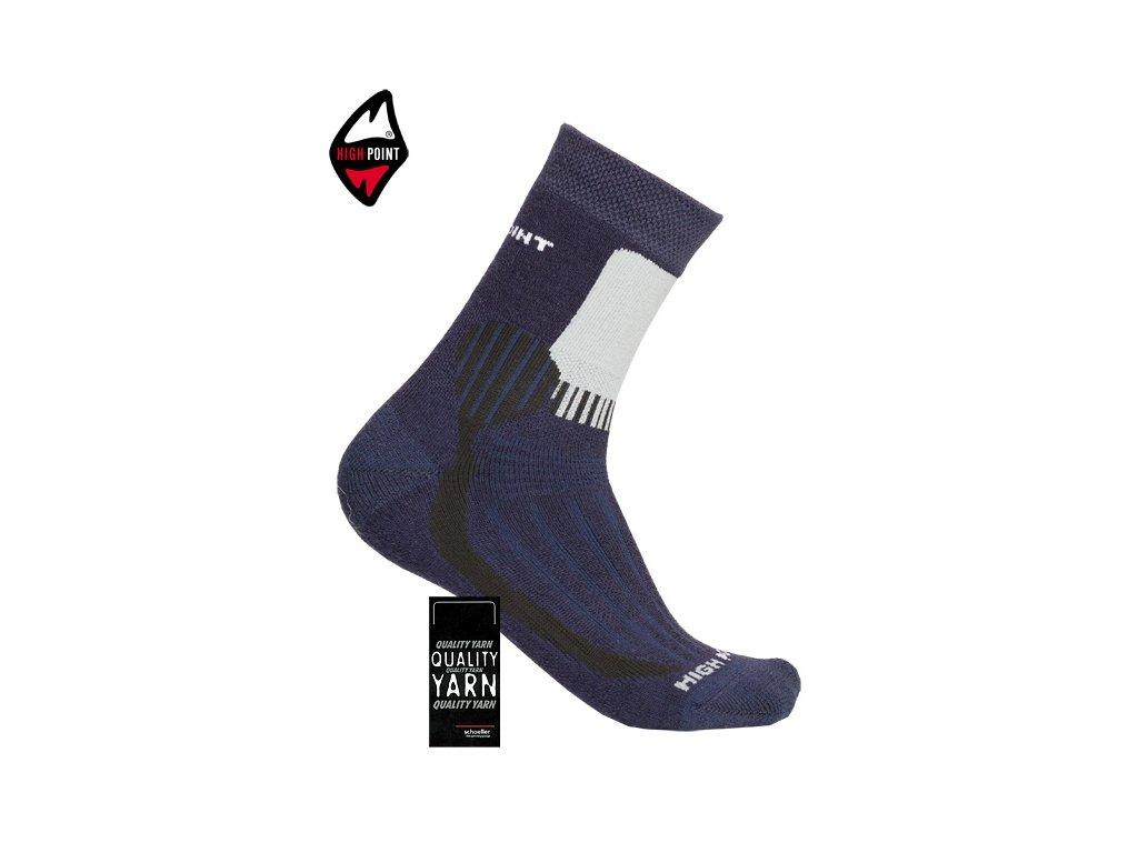 77f32426b27 HIGH POINT Mountain Merino - ponožky - SAMBARSPORT