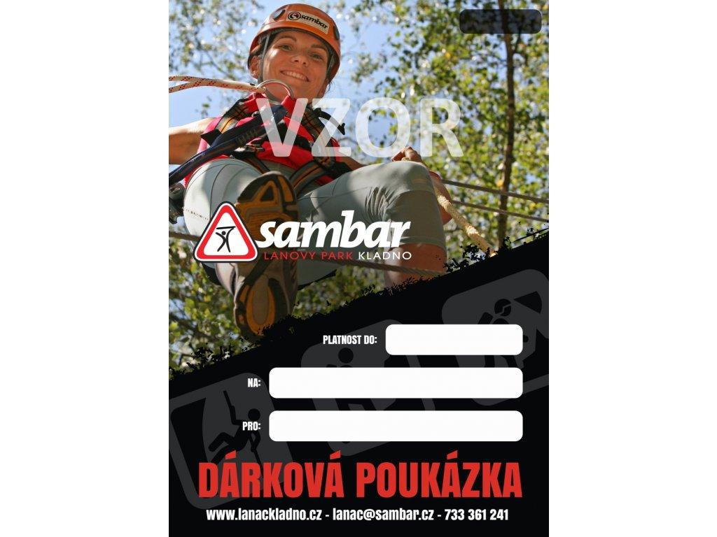 DÁRKOVÁ VSTUPENKA - Týmové překážky - SAMBARSPORT 1e306684c98