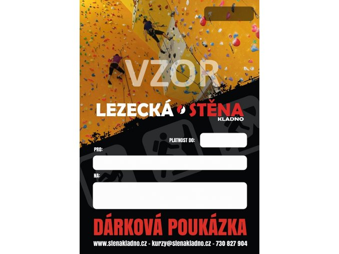 DÁRKOVÁ POUKÁZKA - Kurz lezení na laně pro dospělého - 4 lekce