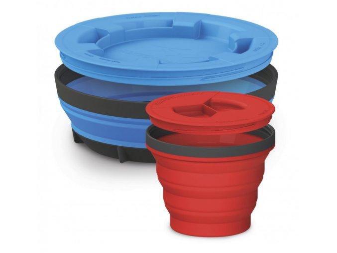 SEA TO SUMMIT X-Seal&GO Set - Set nádobí s víčkem