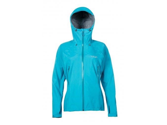 Womens Downpour Plus Jacket Tasman
