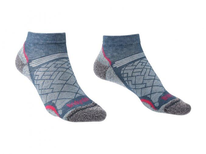 BRIDGEDALE Hike UL T2 CP Low Women's - Dámské ponožky