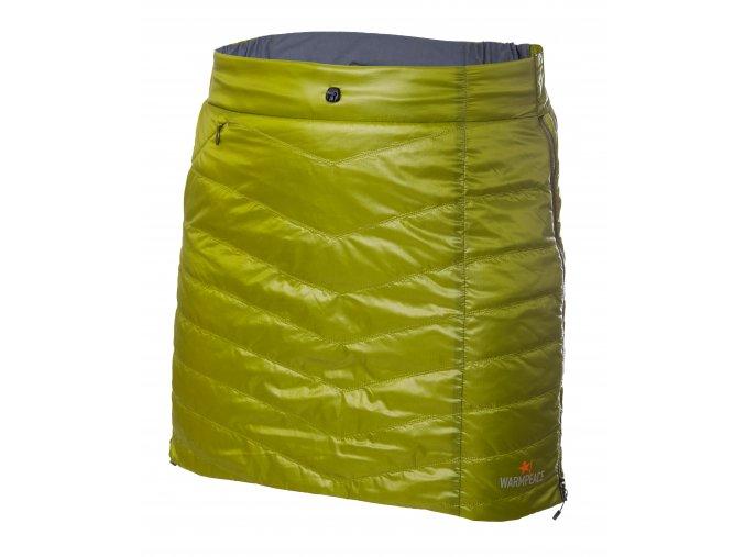 Shee skirt moss green dark grey2