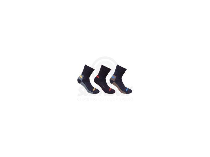 VAVRYS Trek Cool-max TRI PACK ponožky - 28323