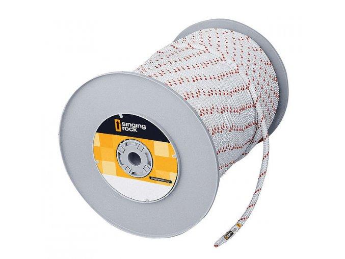 SINGING ROCK Speleo 10,5mm bílé- L0240WR - statické lano