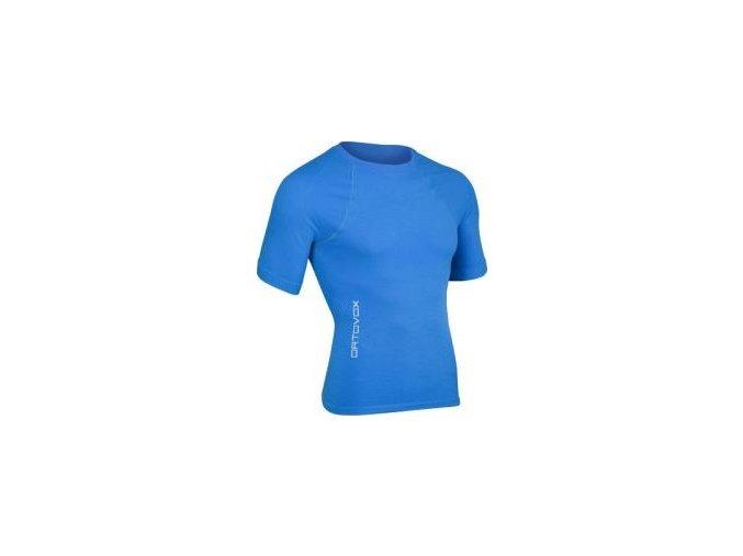 ortovox merino competition short sleeve panske modra