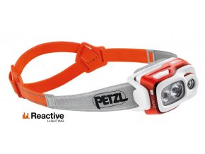 PETZL SWIFT RL svítilna oranžová