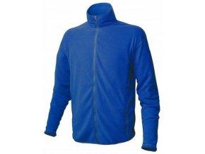 WARMPEACE Nemesis - polartecová bunda, modrá M - VÝPRODEJ