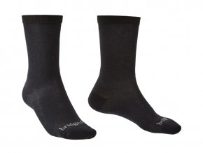 BRIDGEDALE Liner Coolmax Liner Boot 2 páry - ponožky