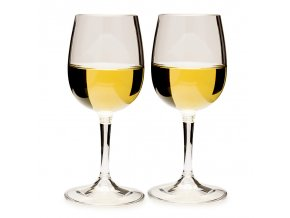 GSI Outdoors Nesting Wine Glass Set - Set skleniček