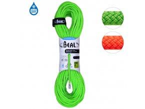 Beal Gully Unicore 7,3mm - Poloviční a dvojité dynamické lano