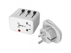 Lifeventure USB Travel Adaptor - adaptér