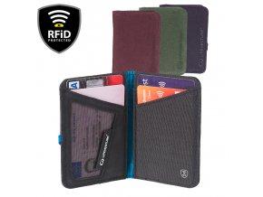 Lifeventure RFiD Card Wallet - Peněženka
