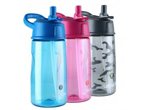 LitteLife Flip-Top Water Bottle 550ml - Dětská lahev