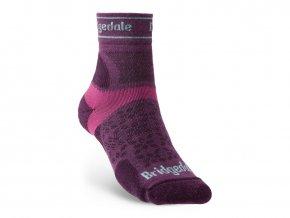BRIDGEDALE Trail Run UL T2 MS 3/4 Crew Women's - Dámské běžecké ponožky