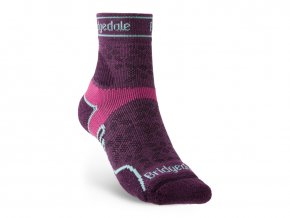 BRIDGEDALE Trail Run LW T2 MS 3/4 Crew Women's - Dámské běžecké ponožky
