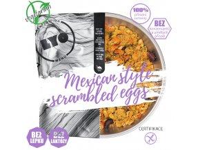 Míchaná vejce na mexický způsob