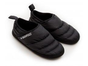 4457 Down Slippers black
