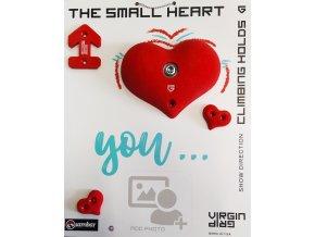 VIRGINGRIP The Small Heart - červené