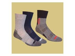 VAVRYS Light Trek Coolmax - TRI PACK ponožky - 28325
