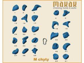 MAKAK M setík - lezecké chyty