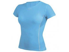 CRAFT Stay Cool triko kr. rukáv dámský - 193684 - XL, modrá