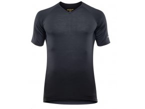 DEVOLD Breeze Man T-Shirt V-Neck - triko