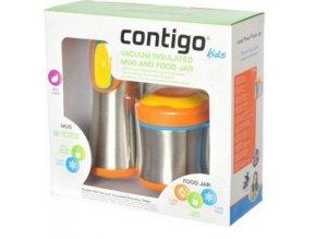 CONTIGO Kids Scout Mug and Food - sada