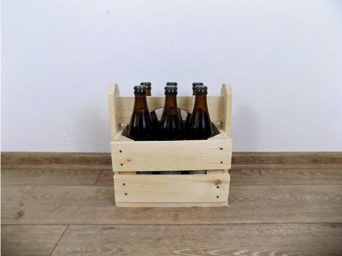 Dárková bedýnka na pivo a víno