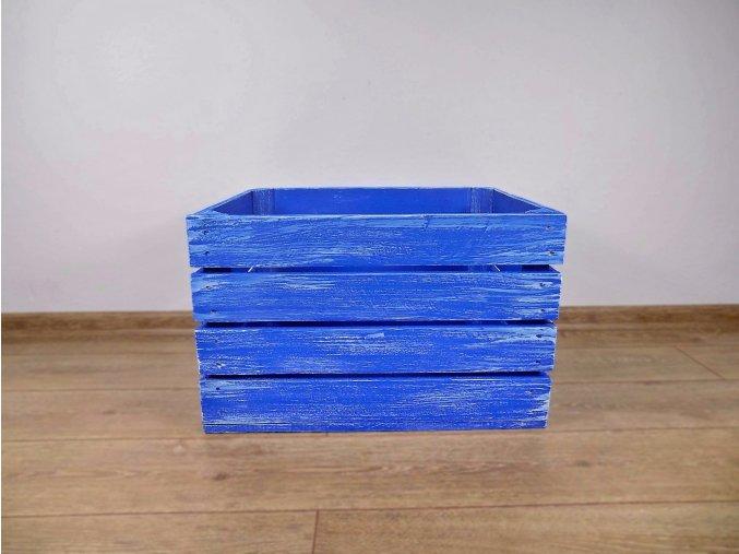 dřevěná bedýnka 50x40x30 cm patina Marinero