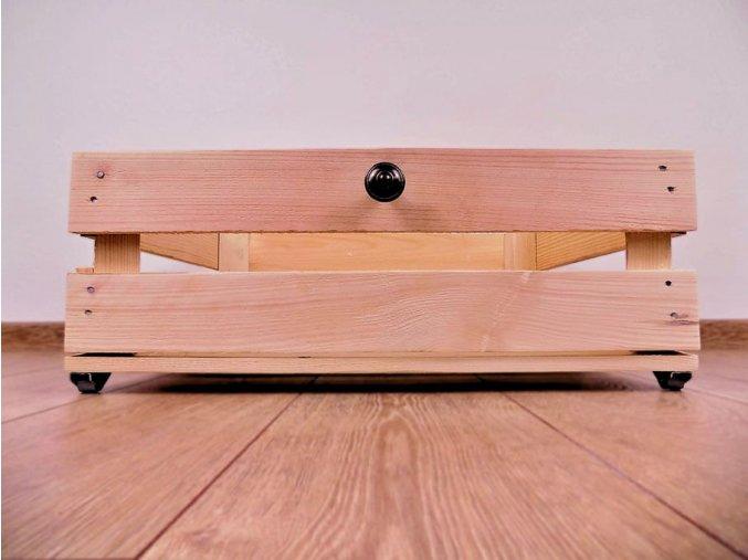 50x40x16 úložný box s úchupem a pojezdem