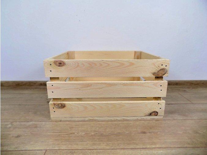 Dřevěná bedýnka 50x40x25 1