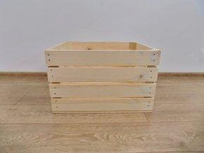 Dřevěná bedýnka KLASIK 50x40x30 1