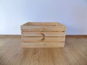 Dřevěná bedýnka KLASIK 60x40x30