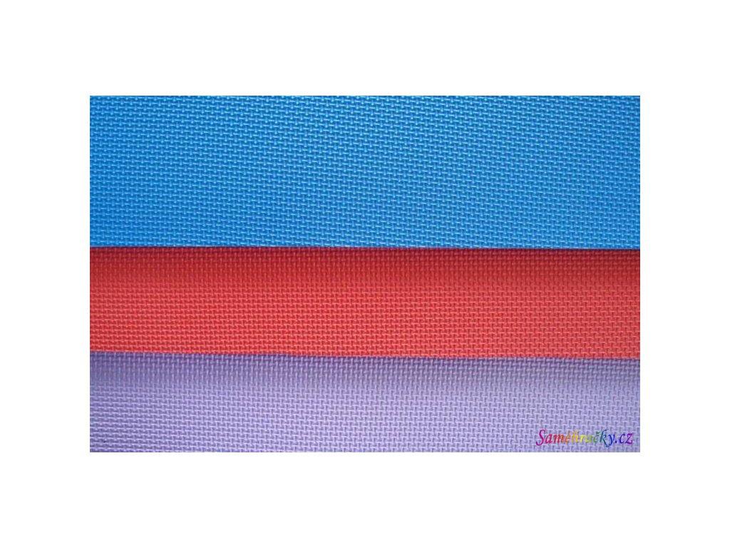 EVA podložka Cross 120x60 cm (Barva Červená)